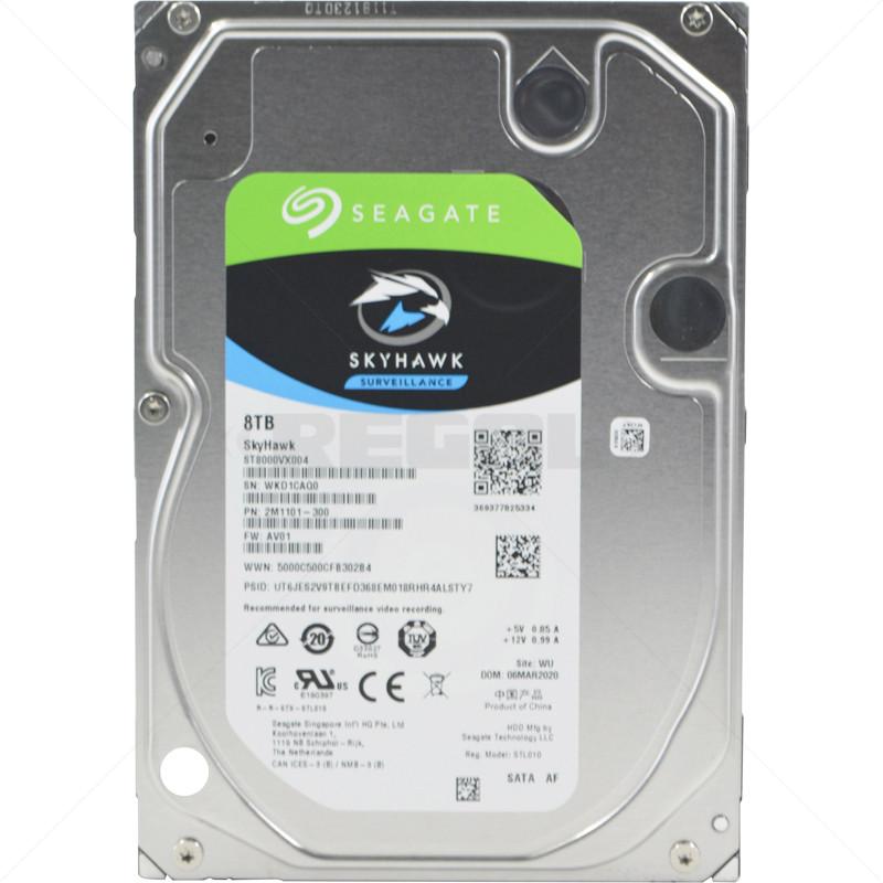 """Seagate SkyHawk Surveillance AI Hard Drive 8TB SATA 3.5"""""""