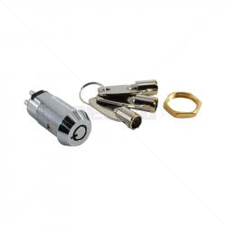 Keyswitch - Momentary Double Pole Key Alike - 3028