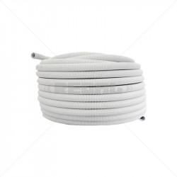 CONDUIT PVC - 25mm Flex / m White