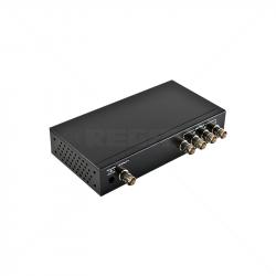 Video Distribution Amp 1 - 4 D-TVI CVI AHD 12VDC - Excludes PSU