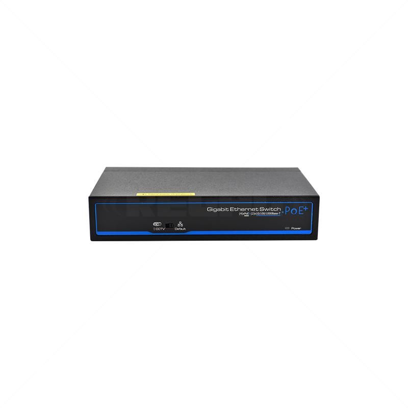 UTEPO 4 Port Gigabit PoE + 2  Gb TP Uplink Switch