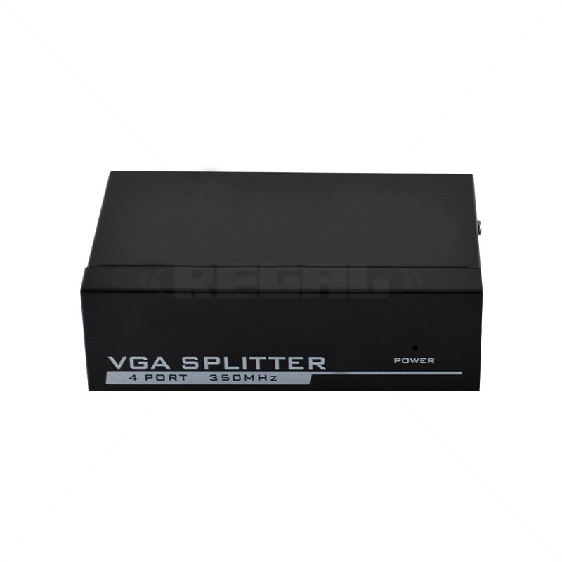VGA 1-4 Way Video Splitter