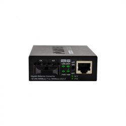 PLANET 1000Base-T to 1000Base-LX Media Converter (SC SM) -10km