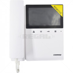 "COMMAX Col 4.3"" LED Touch Button Video Monitor Only CDV-43K"