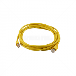 Cable - CAT5 Fly lead BC / 3m Yellow