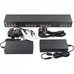 Balun 4 in 1 16 Channel Analogue Video + Power Transceiver Kit
