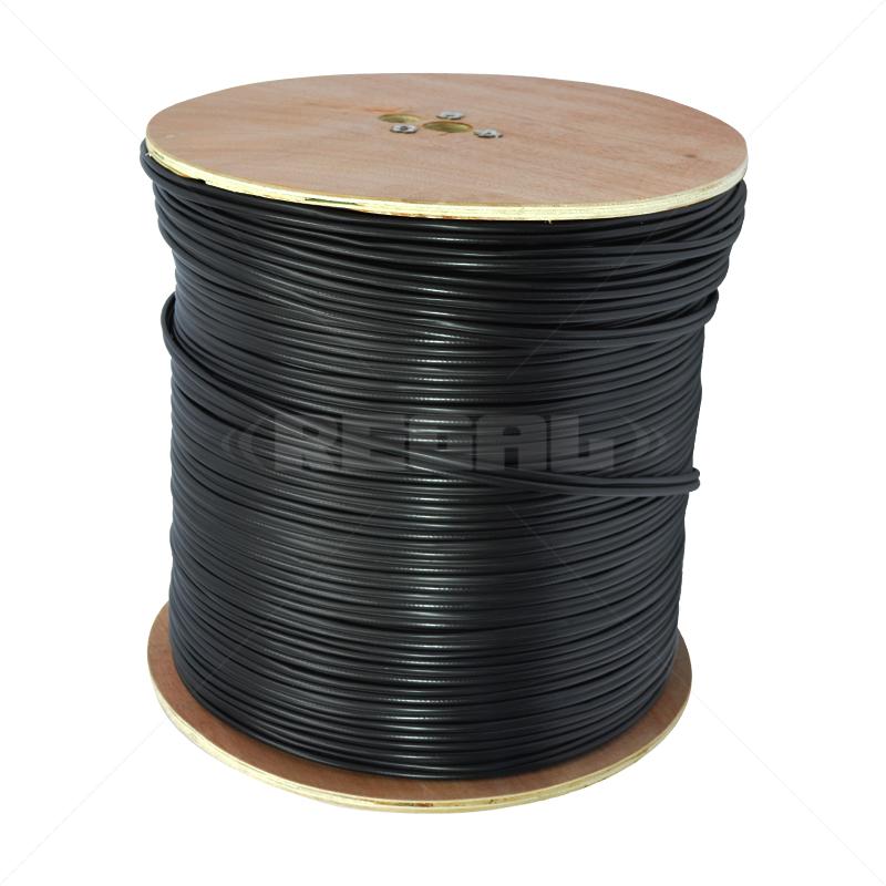 RG59 + Power - Black / 500m