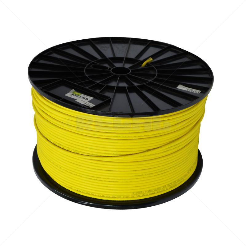 Cable - CAT6E U/UTP BC 500m - Yellow (Solid)