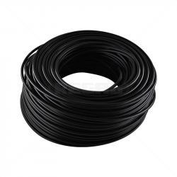HT Cable Aluminium (Stranded) - Black / 100m