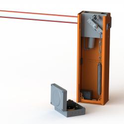 ET NICE Traffic Barrier WIDE L 5m Kit Inc Pole Kit