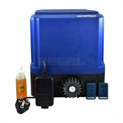 ET Drive 500 Gate Motor Kit incl Batt+4m Nyl Rck+2x4But Tx Plug-in Trf