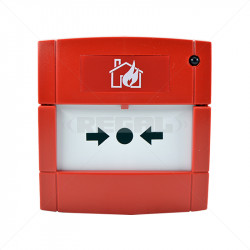 ZITON Call Point Flush Mounting Red Analogue 172101