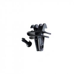 Insulator - Picket with Clip - Black