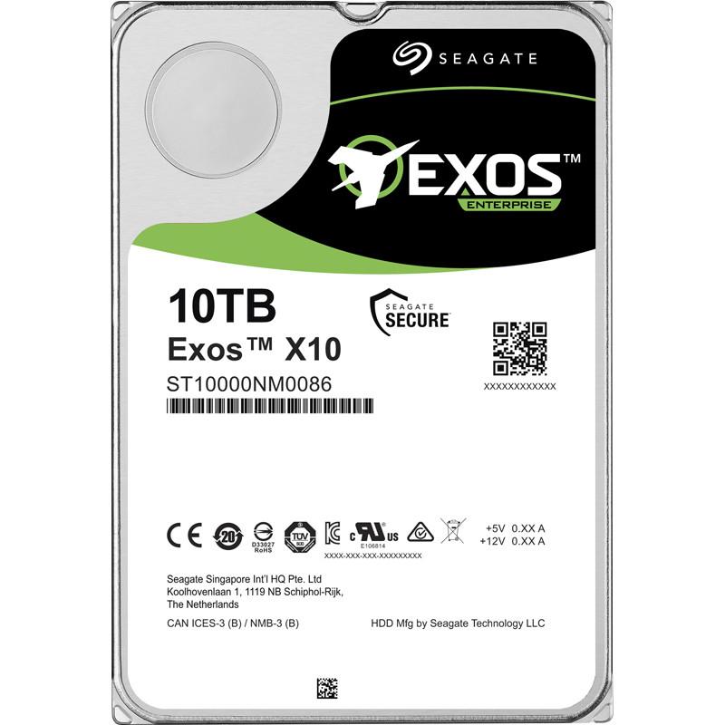 "Seagate EXOS Enterprise HDD 10TB SATA 3.5"""