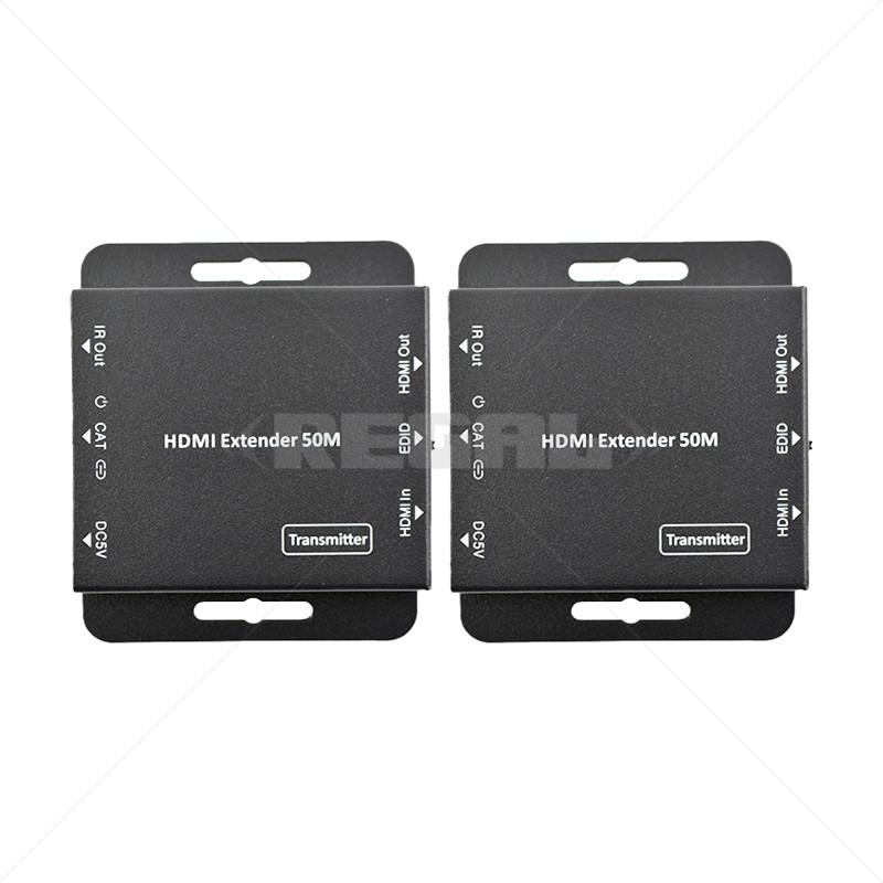 HDMI Extender Kit Over CAT5E/6 HD1080P 50m (Bi-directional IR) 5VDC