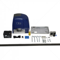 ET Drive 1000 Gate Motor + Battery + 2 x TX4 Incl Rack and Beams