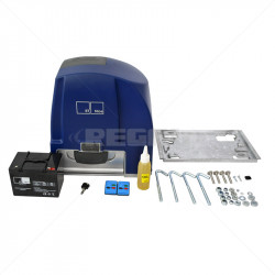 ET Drive 1000 Gate Motor + Battery + 2 x TX4 Excl Rack