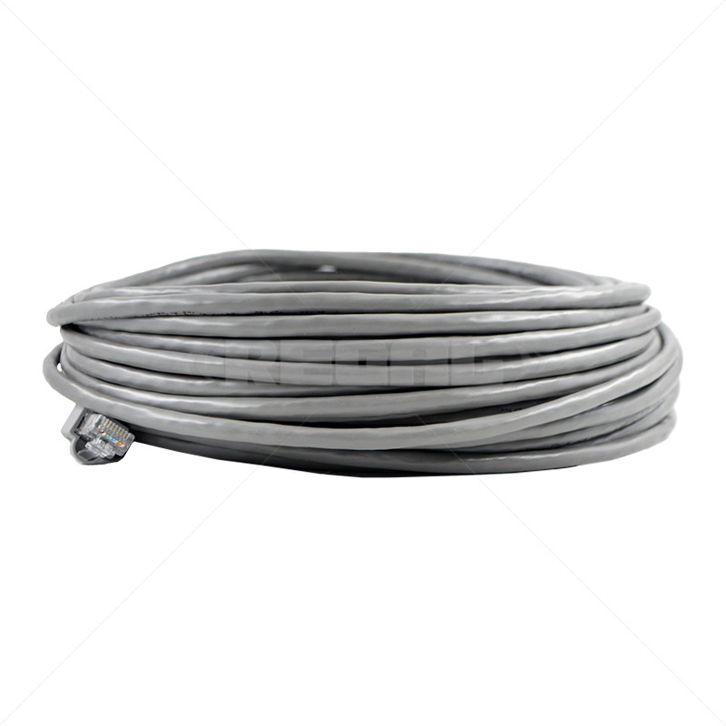 Cable - CAT5 Fly lead / 20m - Grey