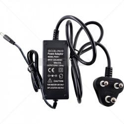 Securi-Prod CCTV Power Supply - Switch Mode 12VDC 2.5Amp Regulated