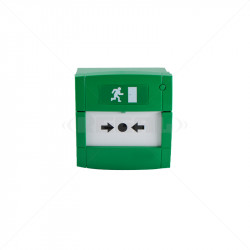 Green Call Point + Smash - Dual Relay