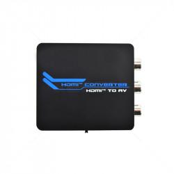 HDMI to AV Mini Converter 1080p