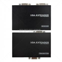 VGA Extender with Audio via...