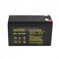 Securi-Prod 12V - 8.0Ah GEL...