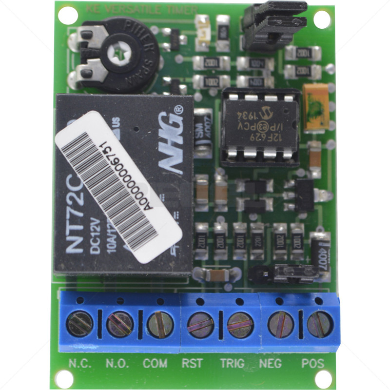 Timer PCB - 3 Seconds to 3 Hours Universal