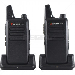 Zartek TX-8 Two Way Radio Twinpack