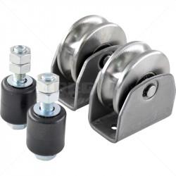 Gate Wheel Kit - 80mm Radius