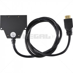 HDMI Super Mini Splitter 1-In 2-Out with pigtail 4K x 2K