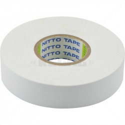Tape - Insulation 20m x 18mm Nitto White
