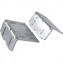 Sliding Gate Contact - Z-Bracket - HDG