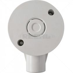 CONDUIT PVC - 20mm 1 Way Box - With Lid+Screw