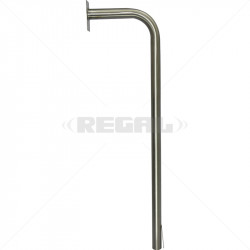 Gooseneck - No Base Plate Stainless Steel