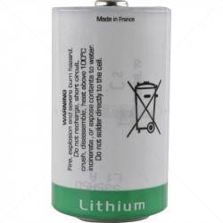 BATT SAFT Lithium 3.6V for Optex Xwave AX100 and AX200 Wireless Beams