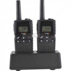 Zartek COM8 - 2 Way Radio Twin Pack Kit