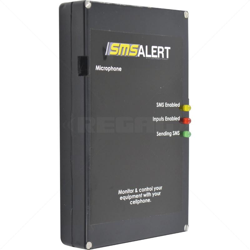 SMS Alert 9 Plus Alarm - 6 Zones 3 Relay Outputs 8 User