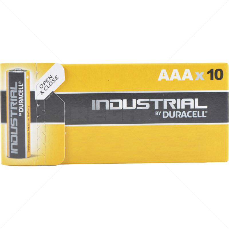 BATT - 1.5V AAA DURACELL 10 Pack 49mm x 10mm