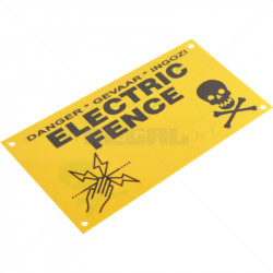 Warning Sign - Small Double Sided