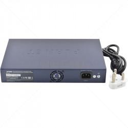 PLANET 8 Port 10/100 PoE + 2 Gb TP/SFP Uplink Switch
