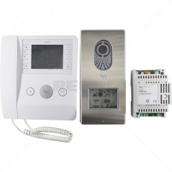"BPT - AGATA VC 3.5"" Multifunction Colour Video Intercom Kit"