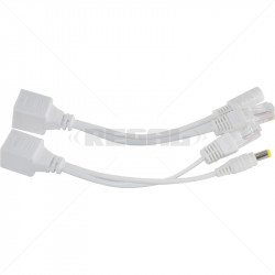 Passive PoE Injector and Splitter 12-15VDC up to 50m