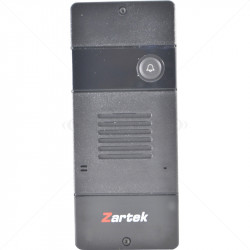 Zartek 1Button Digital WLess Slave Gate Stn incl PSU and Relay ZA-652