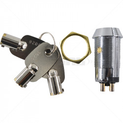 Keyswitch - On / Off DP Key Alike - 3026