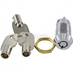 Keyswitch - On / Off Double Pole Key Alike - 3025