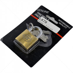 Padlock - TriCircle 32mm Brass