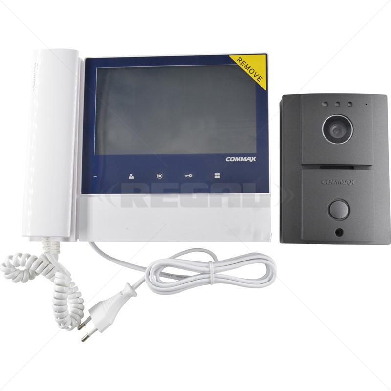 "COMMAX Col 7"" LED Touch Button Video Kit CDV-70N/DRC-4L"