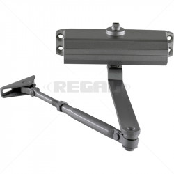 Door Closer Medium Duty 25-45Kg without Hold Open Function