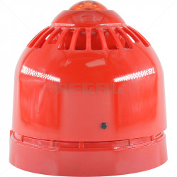 Flashni Siren - Red - 24V - 32 Tone ASC366
